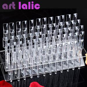 64-Palos-Uv-Gel-Acrilico-consejos-Rack-muestras-de-Arte-de-unas-soporte-de-exhibicion-practica