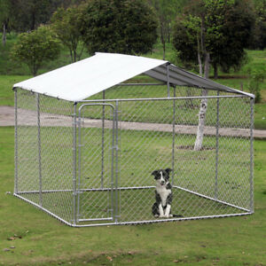 10' x 10' x 6' dog kennel with cover / Dog Kennel / Pet House