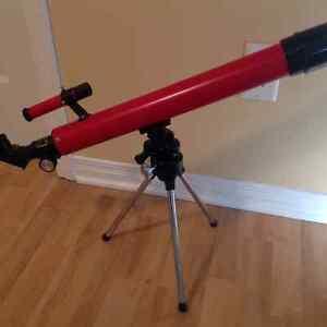microscope + téléscope ( enfant )