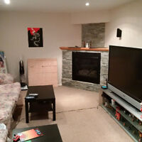 Lower Level of Bungalow for Rent – SEPTEMBER 1