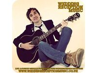 Solo acoustic singer/guitarist AVAILABLE TO HIRE for pubs bars restaurants & events Staffordshire