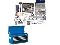 Brand new tool box and tools