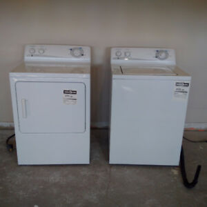 GE Commercial Quality Washer and Dryer