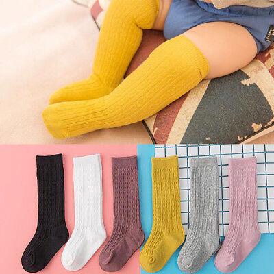 Newborn Baby Socks Solid Color Baby Girl Boy Socks Infant Toddler Knee High Sock](Toddler Boy Knee High Socks)
