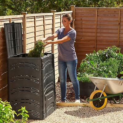 500L Large Compost Bin Eco Friendly Organic Waste Recycling Plastic Composter