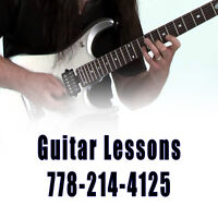 Guitar Lessons - Beginner to Advanced
