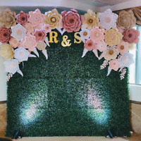 Grass wall and flower wall for rent