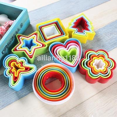 7 Style Christmas Cookie Cutter Biscuit Icing Fondant Cake Decorating Mold Set S ()