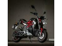 Lexmoto Cypher Fully Electric 50cc- Learner Legal - Blue and Red In Stock