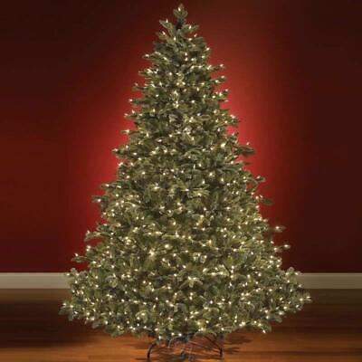 The World's Best Prelit Noble Fir (7.5' Slim) Clear Lights Christmas Tree ()