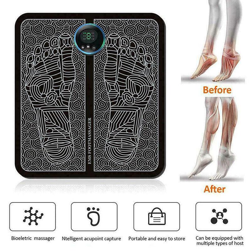 Fußmassagegerät Fußmuskelstimulationsmassage EMS Fußmassagegerät Beinumformung
