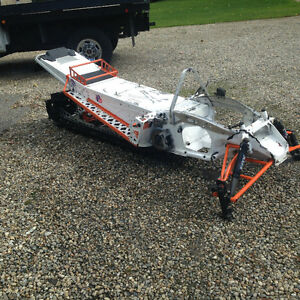 2009 M8 snowpro 162 chassis