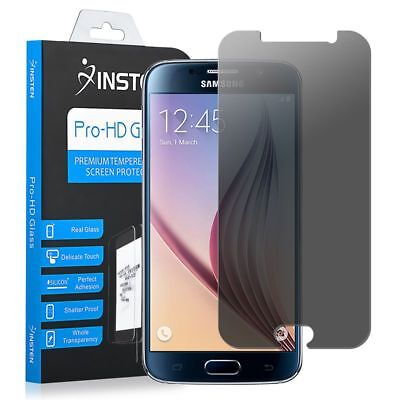 Stiff Tempered Glass Privacy Anti Spy Screen Protector For Samsung Galaxy S6