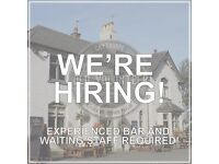 Full Time Bar and Restaurant Staff Required