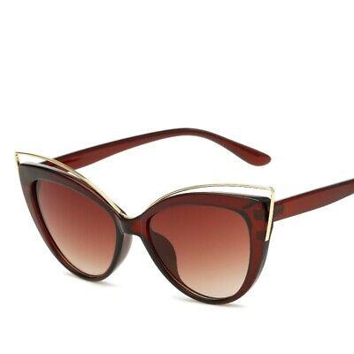 Ladies Cat Eye Sunglasses Women Luxury Super Star Glasses Ladies Vintage (Super Cat Eye Glasses)