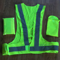 2  Reflective Safety Walking Vests - new - never worn.