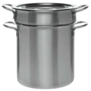 10 Qt Stainless Steel Stock Pot with Lid and Pasta Insert
