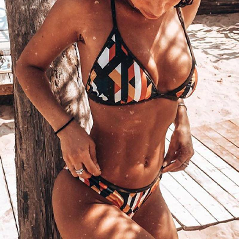 Women Sexy Bikini Brazilian G-String Padded Bra Set Thong Swimwear Swimsuit US Clothing, Shoes & Accessories