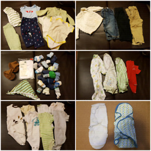 Boys clothing items