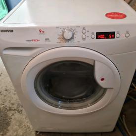 9kg hoover washing machine delivered installed