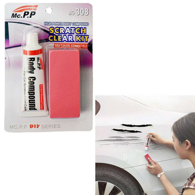 Car Scratch Scuffs Paint Care Body Polishing Scratching Paste Repair Auto Supply