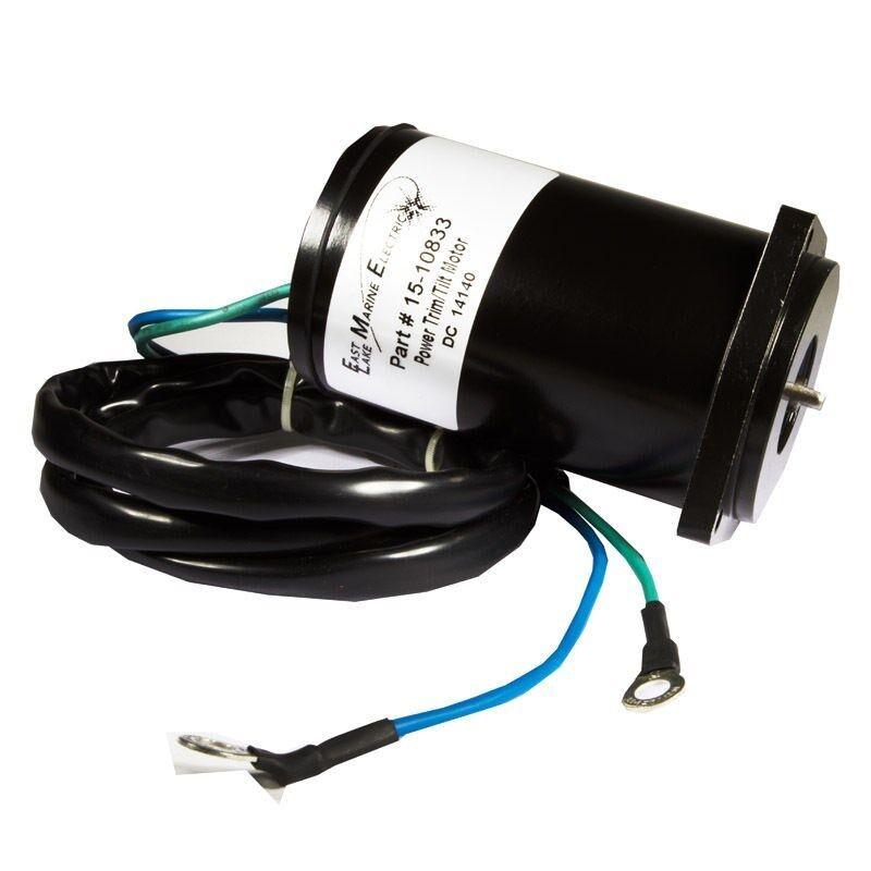 Yamaha power trim tilt motor 12v 2 wire 3 bolt mount 40 50 for 12v 2 hp electric motor