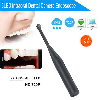 2mp Usb2.0 Dental Intraoral Endoscope 6led Waterproof Ip67 Real-time Inspection
