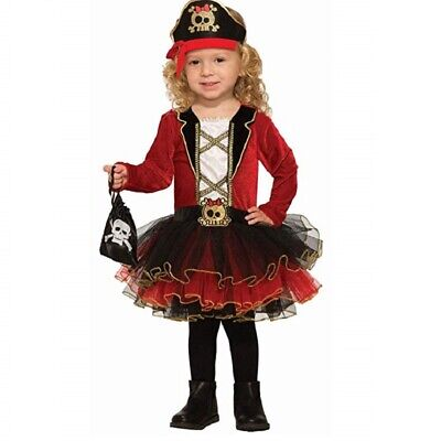Pirate Baby Girl Costume (Deluxe Pirate Girl Infants)