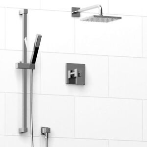 Riobel Square 2-way Type Shower Set: Trim AND Rough in