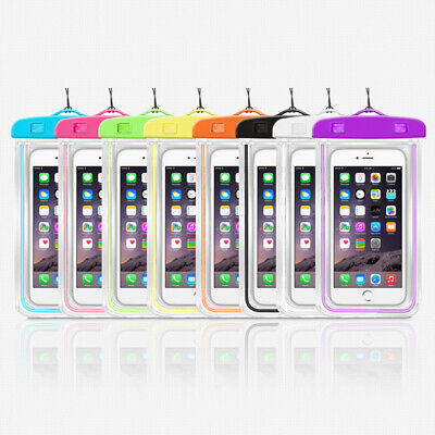 Universal Waterproof Underwater Phone Case Dry Bag Pouch For All Smartphones W