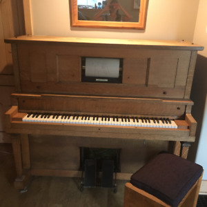 MARTIN ORME 1921 PLAYER PIANO FOR SALE