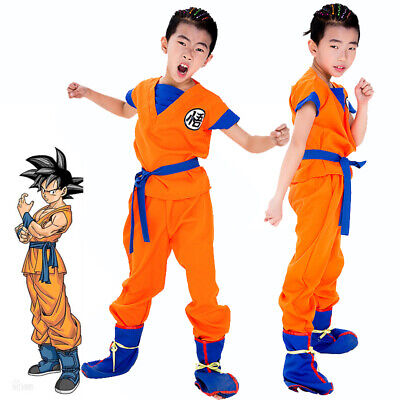 Dragon Ball Dragonball 3 Teiliges Son Goku Cosplay - Dragon Ball Son Goku Kostüm