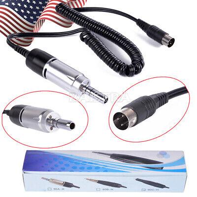 Us Dental Lab Micro Motor E-type Connection 35k Rpm Motor For Marathon Handpiece