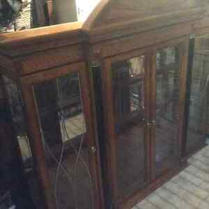 Lovely Hutch /Showcase With Two Glass Shelves