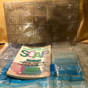 Soap making molds and Book
