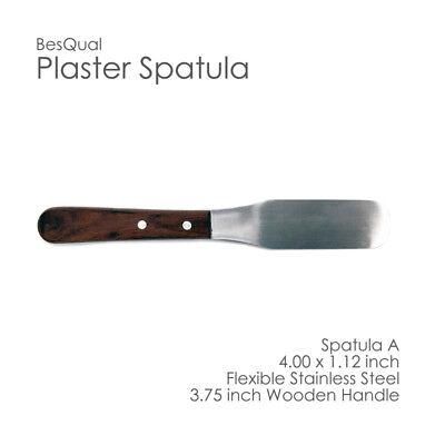 Dental Lab Plaster Spatula With Flexible Mixing Bowl Set Spatula 4x Bowls