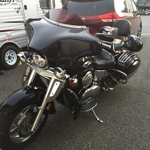 Nomad Vulcan 1500 Touring sacoches rigides