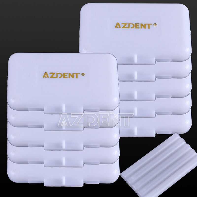 100X Dental Orthodontic Wax Original Scent for Bracket Gum Irritation AZDENT