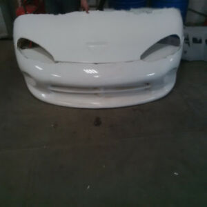 3 Sets of fiberglass body molds for Dodge Viper