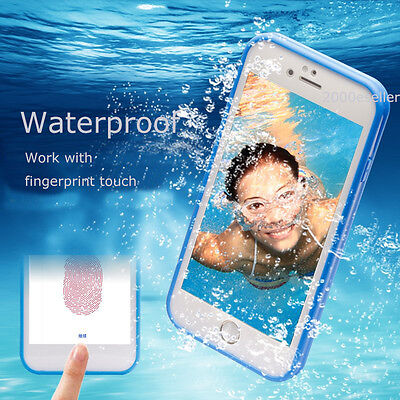 Waterproof Shockproof Rubber UltraThin TPU Case Cover For Apple iPhone 7 6S Plus