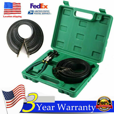 Motorcycle MotoBrike Piston Ring Clamp Compressor Tool Repair Kit &14 Bands USA ()