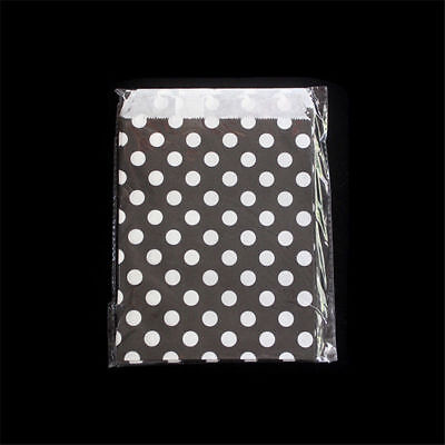 25 pcs Foil Gold Polka Dot Wedding Birthday Sweet Favor Gift Paper Party Bags - Polka Dot Party Bags
