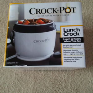 Brand New Single Serve Portable Crock Pot