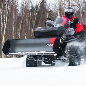 ATV SNOW PLOW SYSTEM! CLICK N GO 2 (MADE IN CANADA)