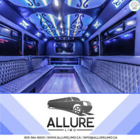 COACH LIMO PARTY BUS PROM WEDDING RENTAL SERVICE LIMOUSINE BEST