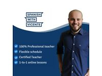 Spanish teacher/tutor Online. Experienced teacher FREE TRIAL lesson. Package discount