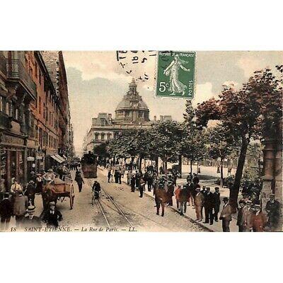 [42] Saint-Etienne - La Rue de Paris.