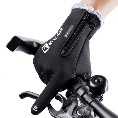 Touchscreen Winter  Thermal Warm Gloves Climbing Riding Skiing Unisex Waterproof
