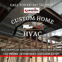CUSTOM HOME HVAC DESIGN | DUCTWORK | MECHANICAL ENGINEERING
