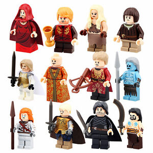 Game of Thrones Minifigures - Set of 12!